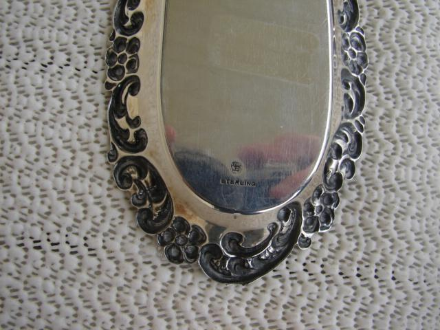 C. 1920 STERLING SILVER  OVAL DISH