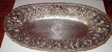 SCHOFIELD BALTIMORE ROSE BREAD TRAY