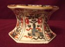 C. 1800 CHINESE IMARI SIX-SIDED MASTER SALT