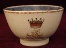 C. 1770 CHINESE EXPORT ARMORIAL TEA BOWL