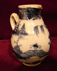 C. 1780 CHINESE EXPORT NANKING SMALL CREAMER