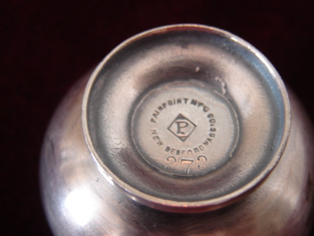 PAIRPONT OPEN SALT SILVER PLATE,NEW ENGLAND