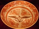 ORANGE FITZHUGH WITH AMERICAN EAGLE BOWL