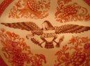 ORANGE FITZHUGH WITH AMERICAN EAGLE BOWL