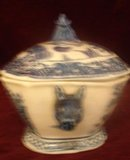 C. 1820 CHINESE BLUE/WHITE TUREEN