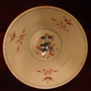 C.1780 CHINESE EXPORT CLOBBERED TEA BOWL