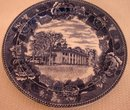 WEDGWOOD HISTORICAL PLATE OF MOUNT VERNON
