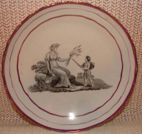 C.1820  ENGLISH  PEARLWARE   BOWL