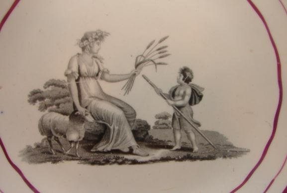 C.1820  ENGLISH  PEARLWARE   BOWL