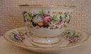 C. 1840 LARGE CUP/SAUCER, POSSIBLY TUCKER OF PHILADELPHIA