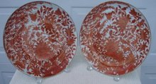 C. 1840 CHINESE EXPORT PAIR SACRED BIRD AND BUTTERFLY 10