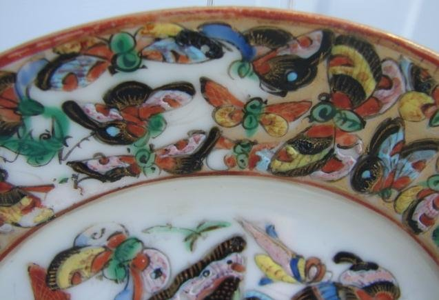 C. 1850 1000 BUTTERFLY PLATE 5 3/4