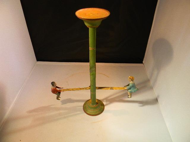 sept 15 1903 marked teeter totter tin toy