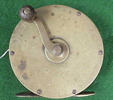 Brass Salmon Reel