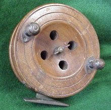 Wood Salmon Reel