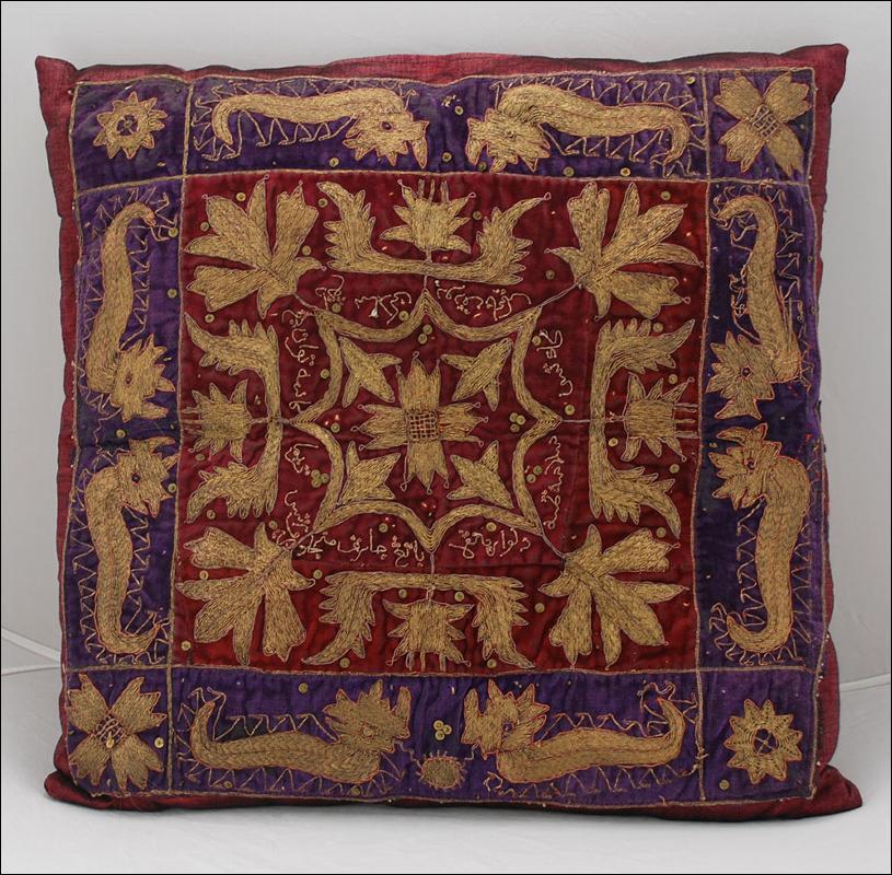 Antique Designer Decorative Pillow Throw
