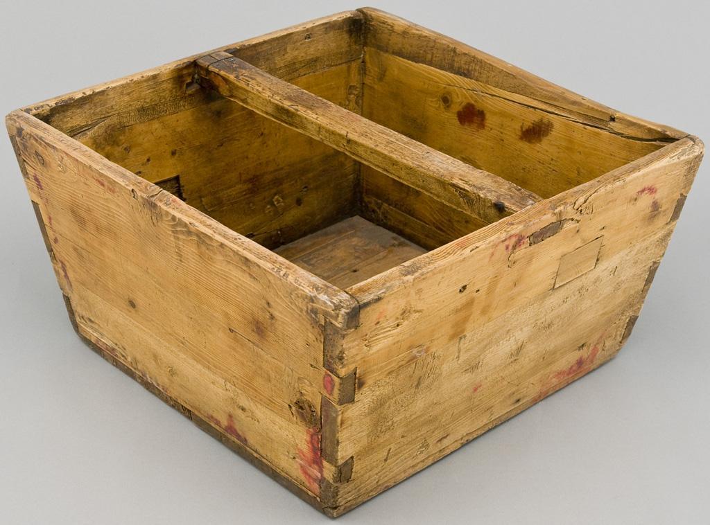 Antique Mongolian Grain Bucket