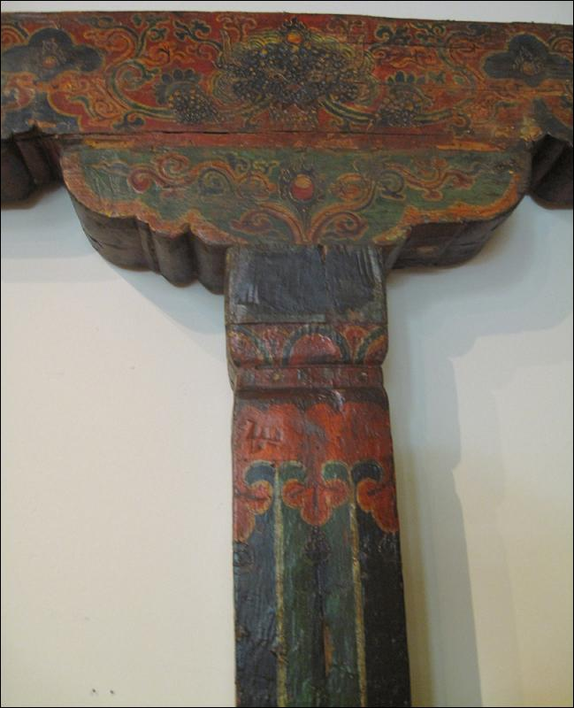 Tibetan Door Frame or Columns