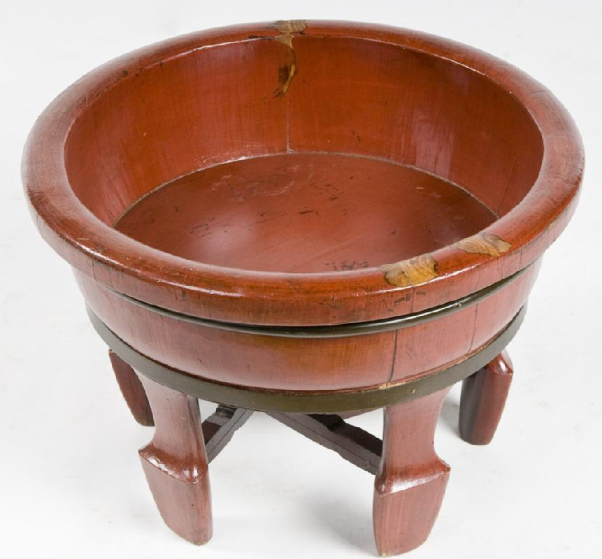 Chinese Wooden Basin