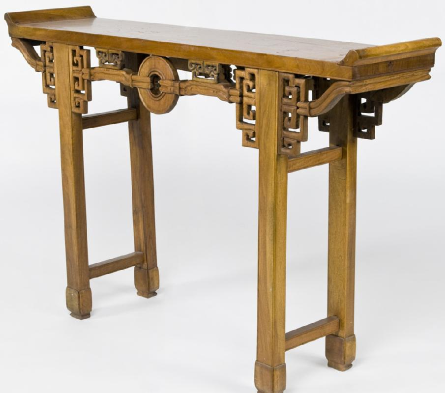 Asian Carved Altar Table (Sofa Table - Console Table - Hall Table)