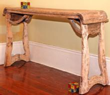 Chinese altar table made from old wood (Sofa Table - Console Table - Hall Table)