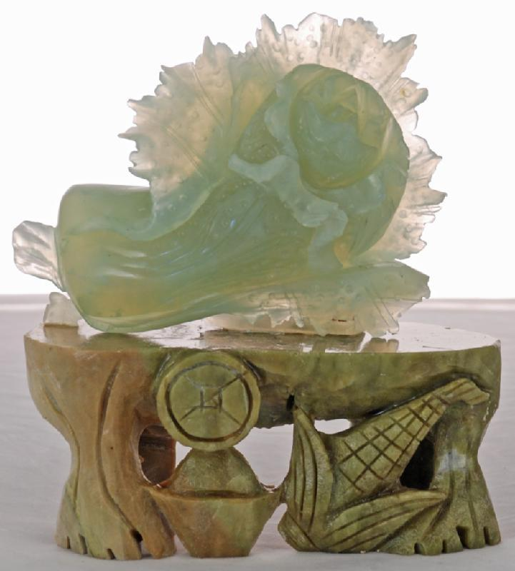Carved Jade Cabbage