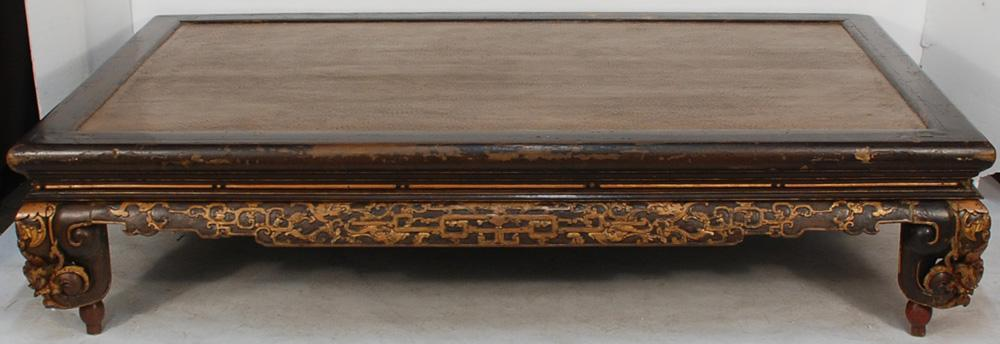 Antique Asian Bed