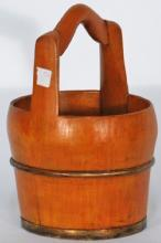 Chinese Water Bucket with Handle