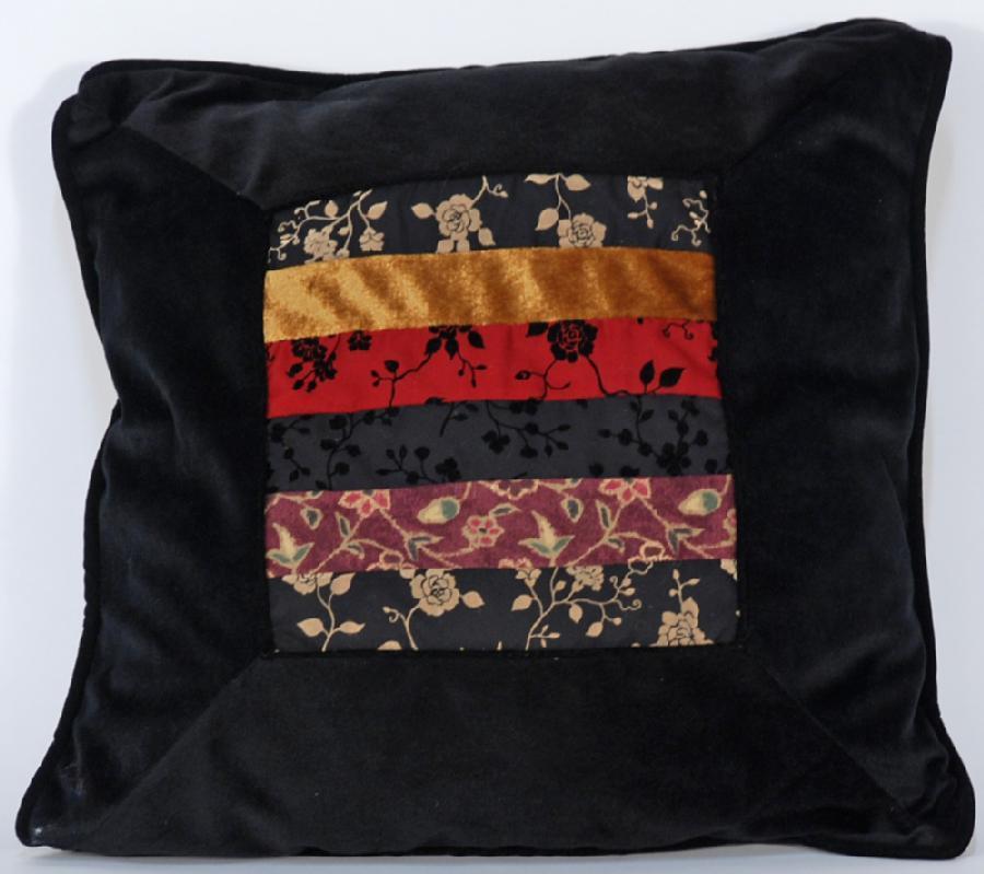 Chinese Velvet Pillow