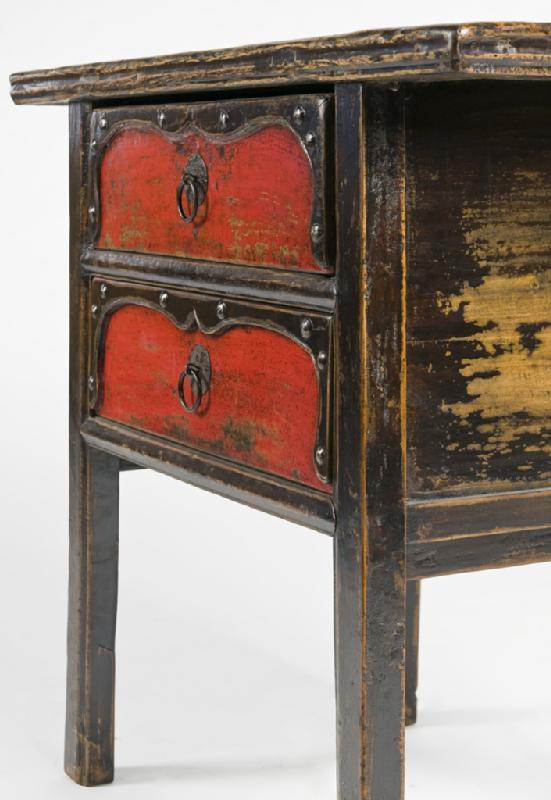Antique Oriental Table Cabinet