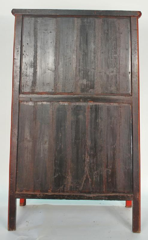 Antique Chinese Wedding Cabinet Armoire