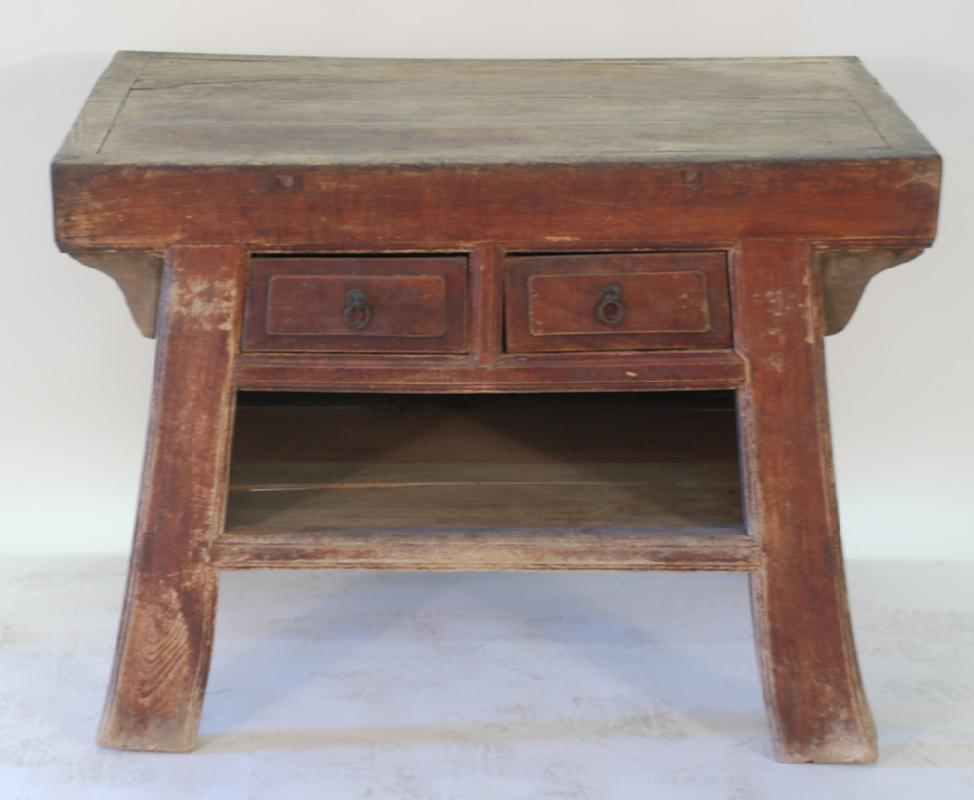 Antique Mongolian Noodle Table