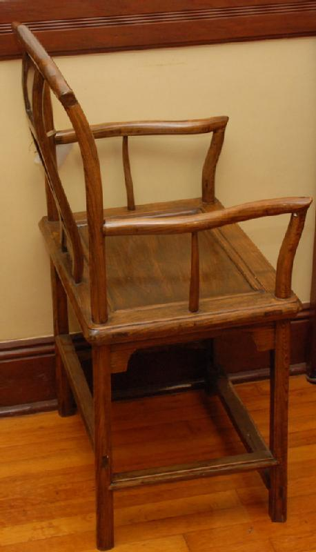 Ming Style Yoke-Back Asian Chair