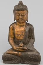 Stone Chinese Sitting Buddha Statue