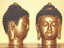 Buddha head-copper
