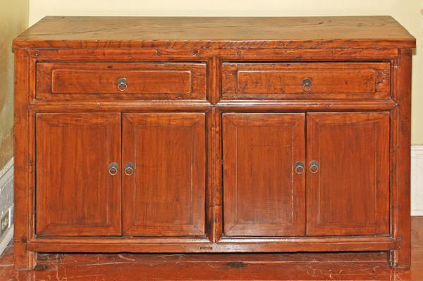 Antique Asian Buffet Cabinet