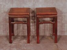 Chinese Square Stools / Tables