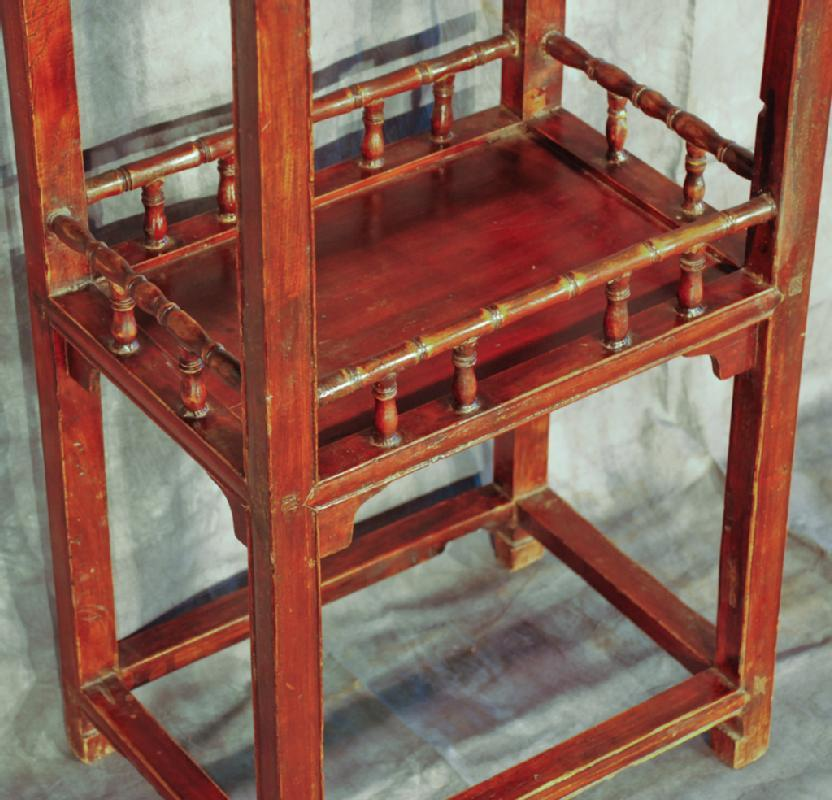 Chinese Tea Side Table