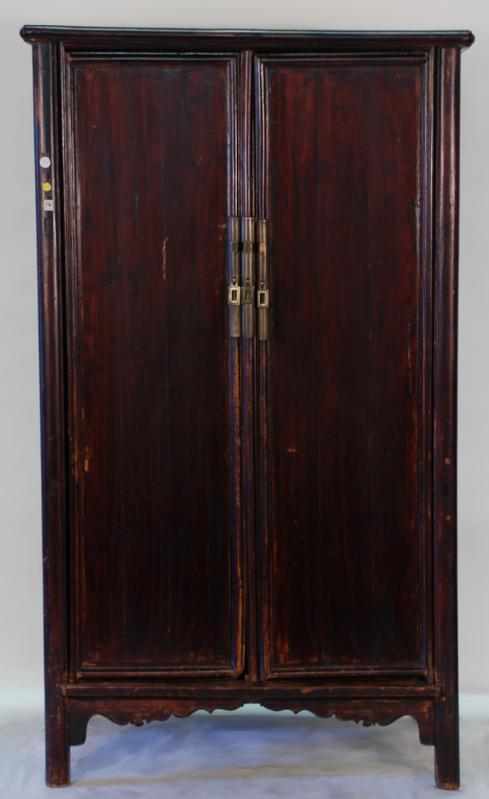 Rare Antique Chinese Ming Style Armoire Cabinet