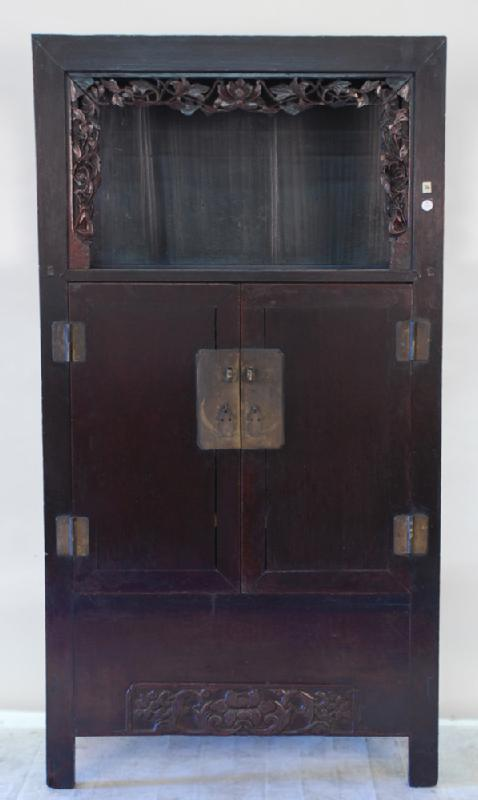 Antique Chinese Worship Cabinet or Display Cabinet