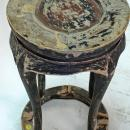 Antique Chinese Round Flower Stand