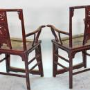 Pair of Antique Chinese Official's Chairs
