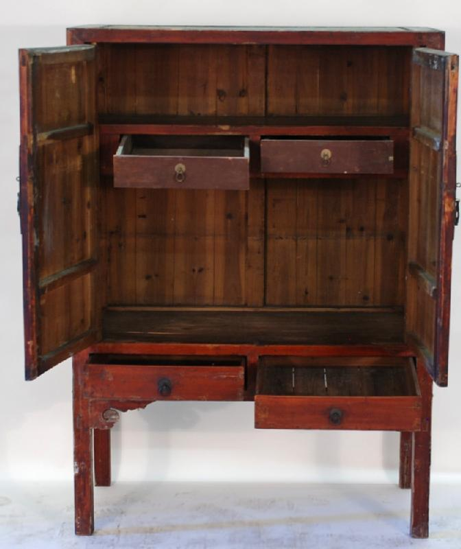Chinese 2-door Armoire Cabinet