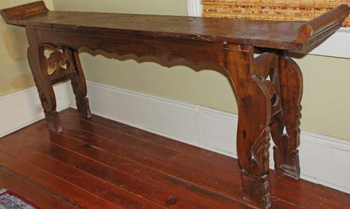 Authentic Antique Carved Chinese Altar (Sofa Table - Console Table - Hall Table)
