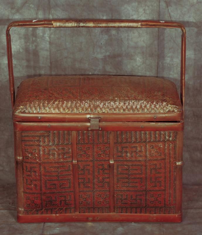 Chinese Basket with Handle