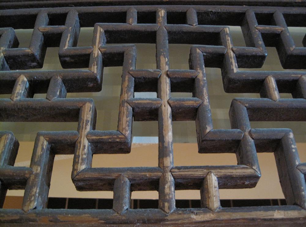 Doorway Lattice Architectural Panel