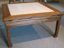 Chinese Antique Table with Stone Top