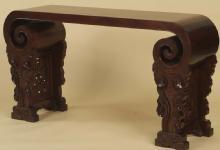 Asian Scroll-Styled Console Table (Sofa Table - Altar Table - Hall Table)