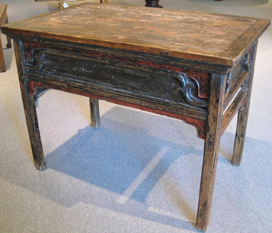 Chinese Antique Table with Secret Compartments