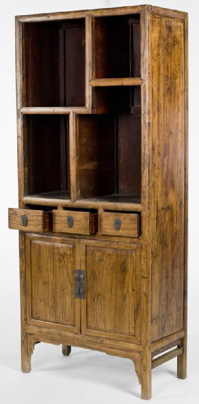 Antique Asian Curio Cabinet
